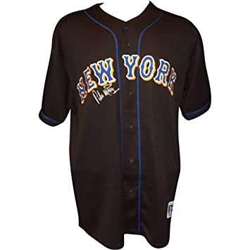check out 0bd7f a26ad Amazon.com: Pedro Martinez Autographed New York Mets Black ...