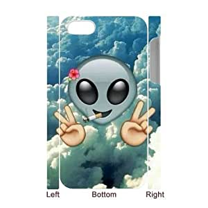 Custom New Case for Iphone 4,4S 3D, Cute Emoji Phone Case - HL-2972676