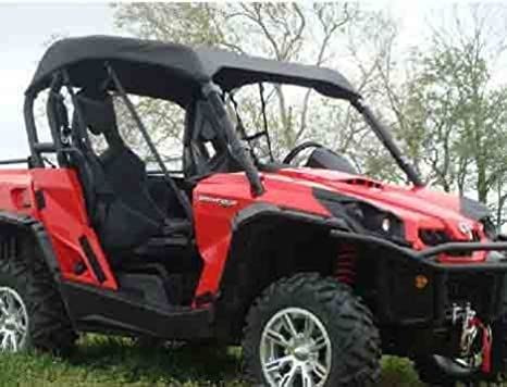 CAN-AM Commander 800R XT 2011–2017 Tusk UTV Fabric Roof Black Top 1680 nylon