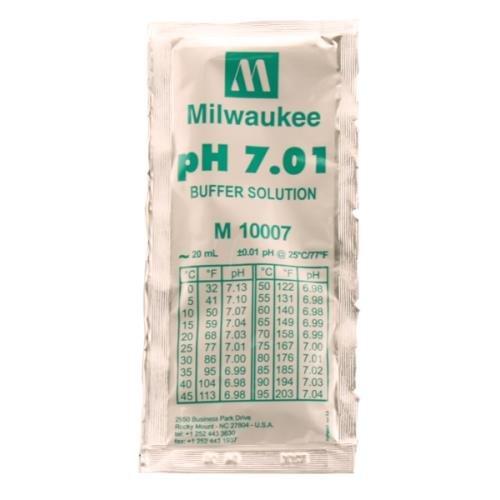 Milwaukee Instruments Buffer Solution Milwaukee M10007B - 20 ml Packet 7.01 Buffer Solution ()