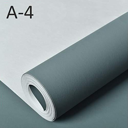 bizhi Papel pintado no tejido color sólido 3D estilo simple etiqueta de la pared sala de estar dormitorio 0.53 * 10 m/rollo...