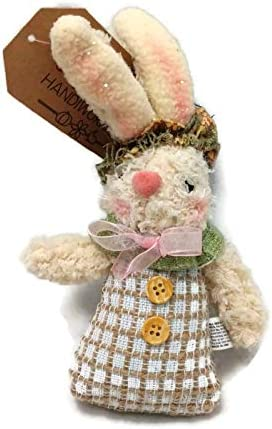 Plush Rabbit  Pattern  6  Inch