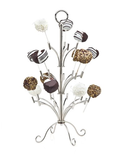 Silver Cake Pop Holder - Holds 25 Pieces