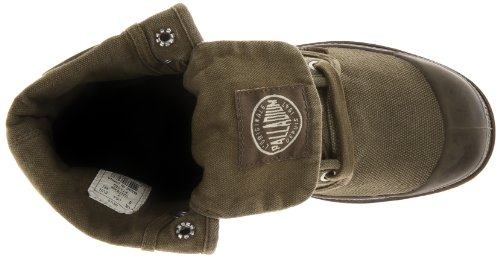 Uomo Palladio Pallabrouse Baggy Baggy Boot Oliva Scuro / Gomma Scura