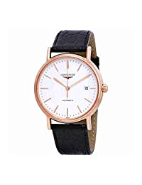 Longines Presence Automatic White Dial Mens Watch L49211122