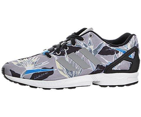adidas Originals Mens ZX Flux Photoprint Light Onix/White/Black Sneaker 13 D (M)