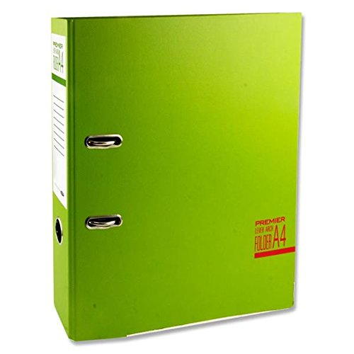 Premier Stationery D2093601 A4 Spectre Lever Arch File - Multi-Colour (Pack of 20)
