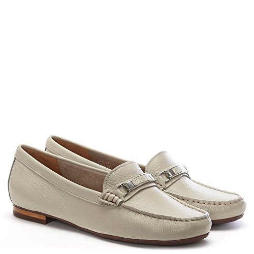 Tano Daniel Loafers Beige Pebbled Leather wn0xxq4p