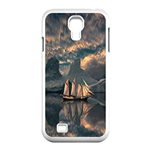 -ChenDong PHONE CASE- For SamSung Galaxy S4 Case -Sailing & Sunset-UNIQUE-DESIGH 18