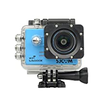 "SJCAM SJ5000 X Elite Action Camera 2"" LCD Screen Gyro anti-shake technology 4K 30 fps HD Res Cam Swimming Diving Driving BLUE"