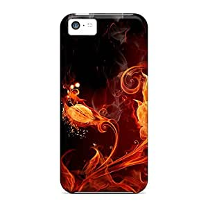 Iphone 5c Case Slim [ultra Fit] Fire Plant Protective Case Cover wangjiang maoyi
