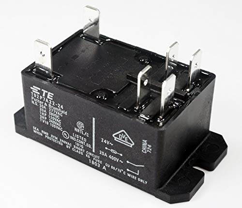 TE CONNECTIVITY/POTTER & BRUMFIELD T92P7A22-24 POWER RELAY, DPST-NO, 24VAC, 30A, FLANGE