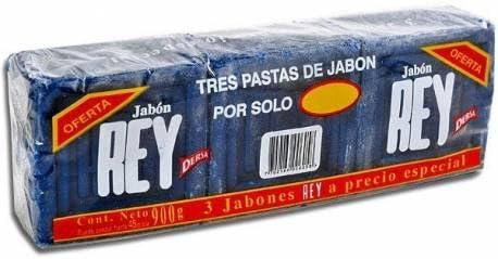 Jabon Rey - Pack de 3 (900 g): Amazon.es: Hogar