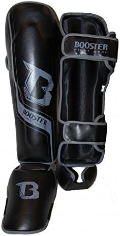 schwarz SG Enforcer Booster Schienbeinschutz