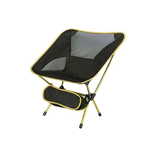 Niceway Portable Camping Chair - Compact Ultralight Folding Backpacking Chairs in a Carry Bag, Heavy Duty 300 lb Capacity, for Hiker, Camp, Beach