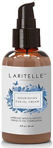 Laritelle Organic Facial Moisturizer, Rejuvenating, Nourishing, Vitamins and Antioxidants-rich Day/Night Cream for Cellular Rejuvenation, Collagen Support and Diminishing Visible Signs of Aging, 2 oz (Rejuvenation Day Cream)