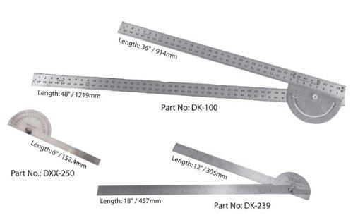 Mathey Dearman - Large Protractor DK-100