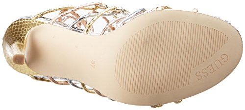 Aeyla Femme Guess Oro Or Multi Escarpins Ha7n6w7