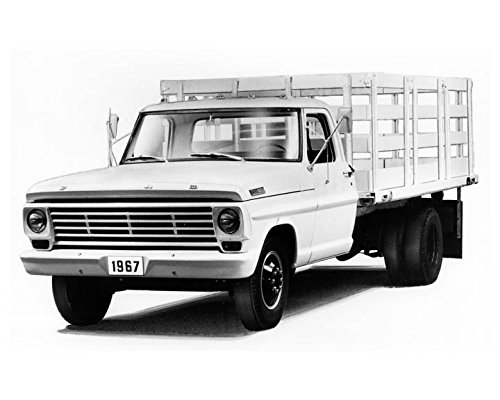 1967 Ford F350 Light Truck Stake Model Photo - Ford Stake Truck