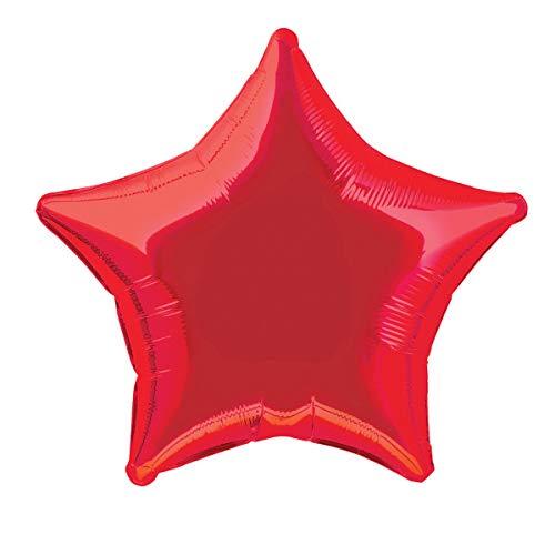 20'' Foil Red Star Balloon