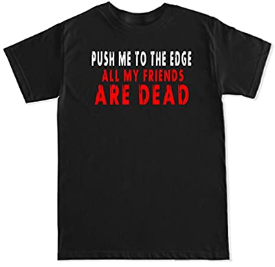 FTD Apparel Men's All My Friends Are Dead T Shirt