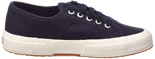 Superga 1705 Cotu - Zapatillas Unisex adulto Azul (Navy-White)