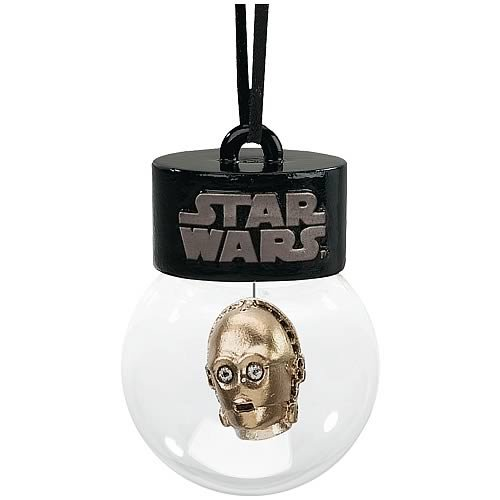 Star Wars C-3PO Holiday Waterball ()