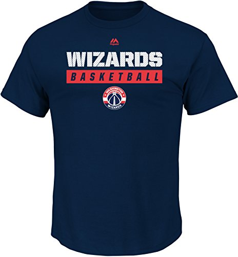 NBA Washington Wizards Men's Proven Pastime Short Sleeve Crew Neck Tee, X-Large, Athletic Navy