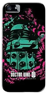 Diabloskinz D 0081-0067-0033 totalmente con tapa para iPhone 5/5S - Doctor Who