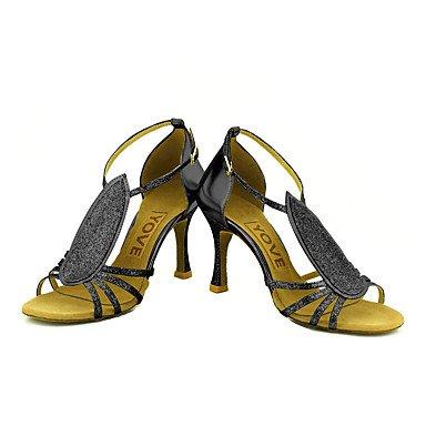 Tacón Zapatos Azul Salsa Personalizado Negro Personalizables de baile Blue Plata Rojo Oro Latino vZvBwSqO