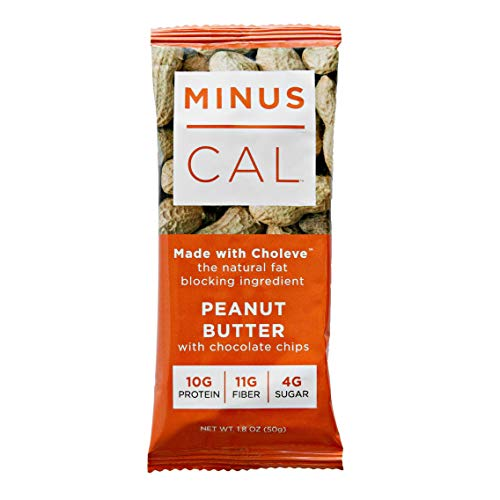 MinusCal All Natural Fat-Blocking Meal Bar – Peanut Butter (Box of 12)
