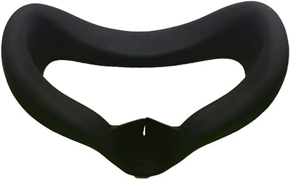 GREATBLESSOculusQuest用アイマスク,OculusQuestVRシリコンカバー,洗えるアイマスクパッド、光漏れを防ぐ、防汗(ブラック)