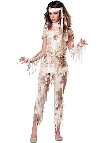 Make A Zombie Punk Halloween Costume (California Costumes Mysterious Mummy Tween Costume,)