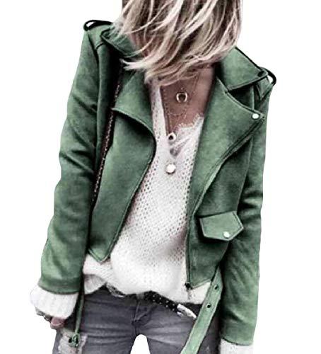 Long Sleeve Down Solid Business Collar Womens Coat Button Down Green Zip Turn XINHEO wa4qg808