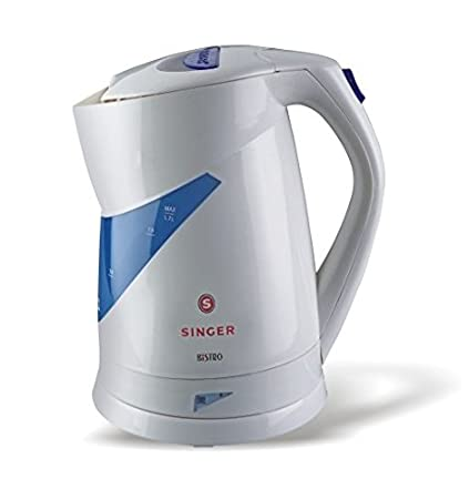 Singer Bistro 1.7 litres 2000-watt Electric Kettle (White) Kettles at amazon