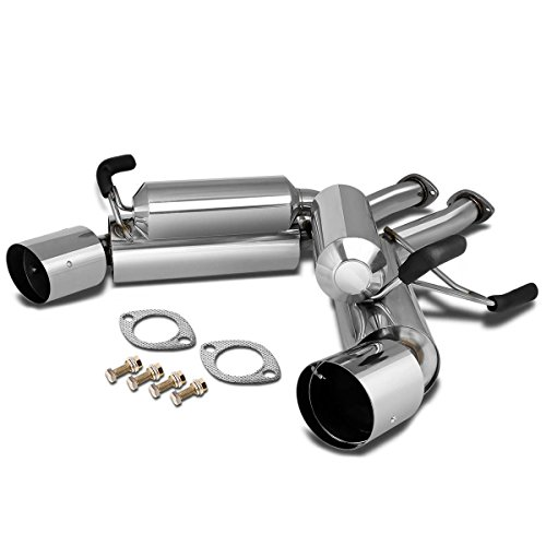 For 03-08 Nissan 350Z/Infiniti G35 Dual 4.5 inches Muffler Tip Exhaust Axle Back/Catback System