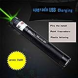 Laser Pointer High-Power Light Green Flashlight, Super Long-Range 2000 Meters Single Point Flashlight