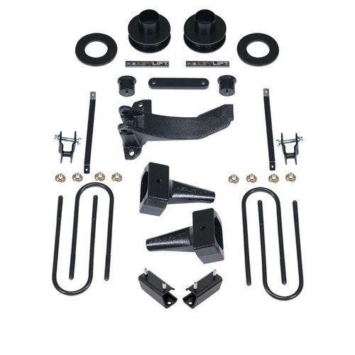 - ReadyLift 69-2526 2.5'' SST Lift Kit with 5'' Rear Blocks (Ford Super Duty F250/F350/F450 4WD, 2-Pc Drive Shaft Only, 2008-2010), 1 Pack