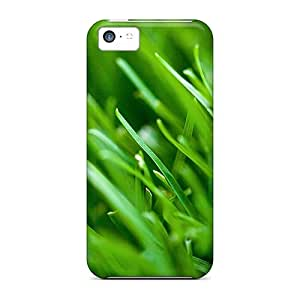 Shock-dirt Proof Grass Bokeh Case Cover For Iphone 5c
