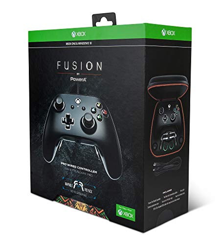 PowerA Fusion Pro Wired Controller for Xbox One - Black 9
