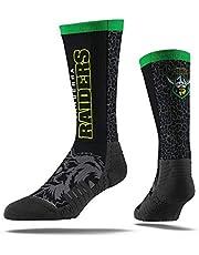 Burley Sekem Unisex Canberra Raiders Large Wordmark Sock, Multicoloured, Large 8-13