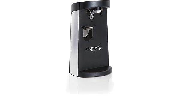 Holstein Housewares - hh-0910203 eléctrico abrelatas - negro ...