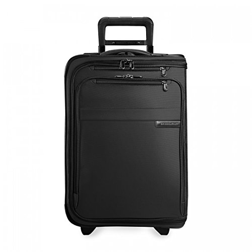 Briggs & Riley Nylon Carry On - Briggs & Riley Baseline Domestic Carry-On Upright Garment Bag, Black, Small
