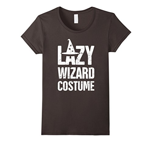 Female Time Lord Costume (Womens LAZY WIZARD COSTUME | Renaissance Festival T-Shirt Small Asphalt)