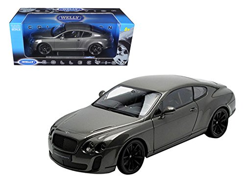 Super Sport Coupe Car - Bentley Continental Supersports Coupe Grey (1:18)