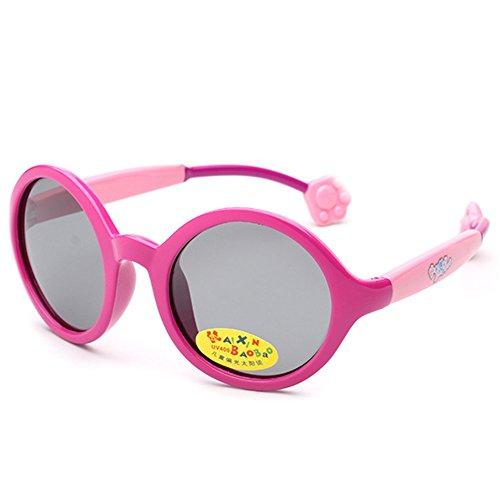 MosierBizne Children s Silicone Ultra Soft Polarized Sunglasses Men And Women - Bolero Sunglasses Polarized