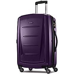 """Samsonite Winfield 2 Hardside 28"""" Luggage, Purple"""
