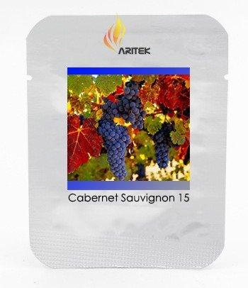 2018 Hot Sale!! Rare French Cabernet Sauvignon Grape Bush Organic Seeds, Professional Pack, 15 Seeds/Pack, Grape Wine Tasty Fruit E3085 ()