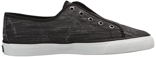 Sperry Top-Sider Womens Seacoast Ripstop Fashion Sneaker Black i2wOd5