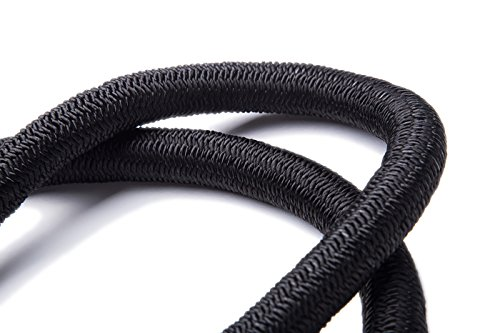 WHOBUY Newest 25' Expanding Hose, Strongest Expandable Garden Hose on the Planet. Double Latex Core, Extra Strength Fabric,Black